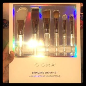 Sigma skincare brush set 6-pc